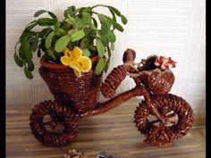 Велосипед для цветов своими руками