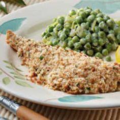 Baked Cod:  2 servings; 244 calories, 5 g fat per serving; Diabetic Exchanges: 4 lean meat, 1 starch, 1/2 fat
