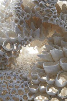 sculpture by Nuala O'Donovan.