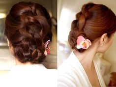 Easy Knotted Updo Hair Tutorial