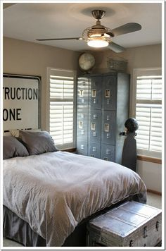 Boys Industrial Room Decor