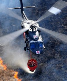 Minnesota National Guard Supports Wildfire Containment by The National Guard, via Flickr