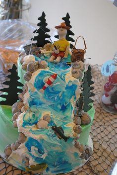 Fishing Party Cake