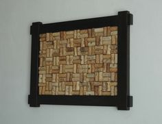 Wine cork board! Can do all kinds of different designs
