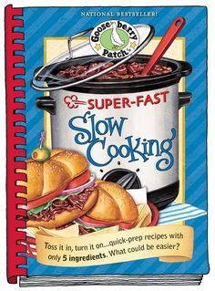 Super-Fast Slow Cooking Cookbook now available as an eBook for your Kindle, Nook, Apple, Kobo & Sony devices - so handy!