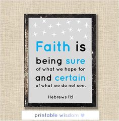 Bible Verse printable Christian scripture art by PrintableWisdom, $5.00