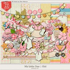 My Little One: Girl by JB Studio
