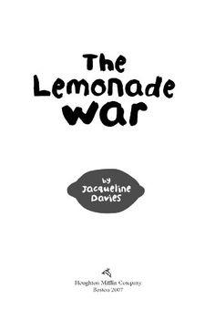 The lemonade war on pinterest reading response lemonade stands and