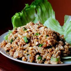 healthy pf chang lettuce wraps