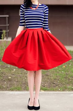 darling #red and #blue outfit  http://rstyle.me/n/hrppvpdpe