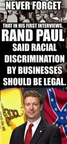 Racist bigot