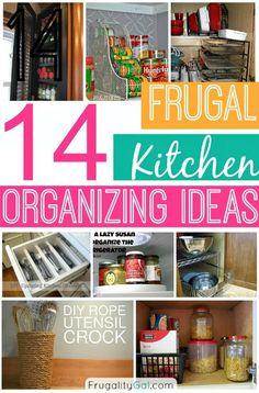 frugal kitchen, kitchen organ