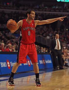 Jose Calderon----Toronto Raptors  Position: Point guard  Age: 30 toronto raptor, york knick, jose calderon