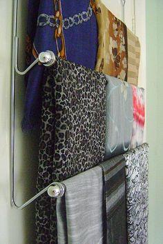 50 Scarves Storage Ideas | Shelterness
