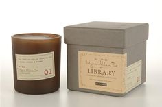 Edgar Allen Poe Library Collection candle: Cardamom, Absynthe, Sandalwood