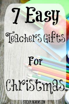7 Easy Teachers Gift