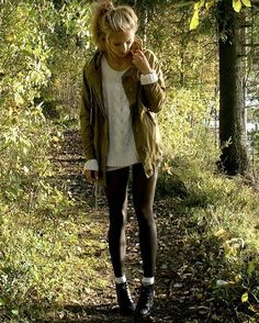 fall fashion, love the top half, maybe some skinny jeans instead of the leggings