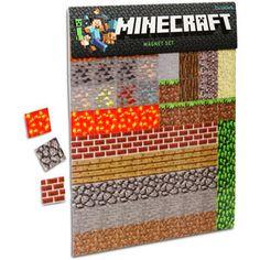 Minecraft magnets!