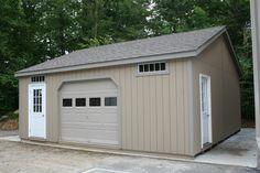 Stand alone garage designs on pinterest for Stand alone garage designs