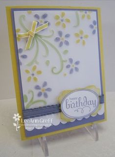emboss and color vellum