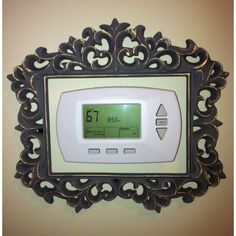 Finally found a good frame for thermostat.