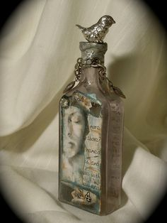 Altered Bottle  by J Freeman