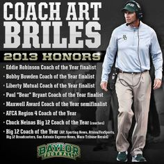 We love Coach Briles! #SicEm #Baylor