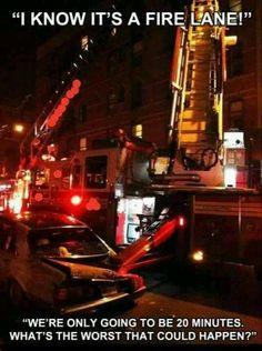 Firefighter Parking