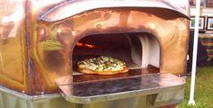 Copper pizza oven 1