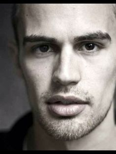A Scruffy and Handsome Theo James.