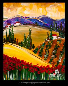 Tuscany Painting - Jackie Schon, The Paint Bar