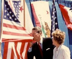 Ronald Reagan, this photo says it all
