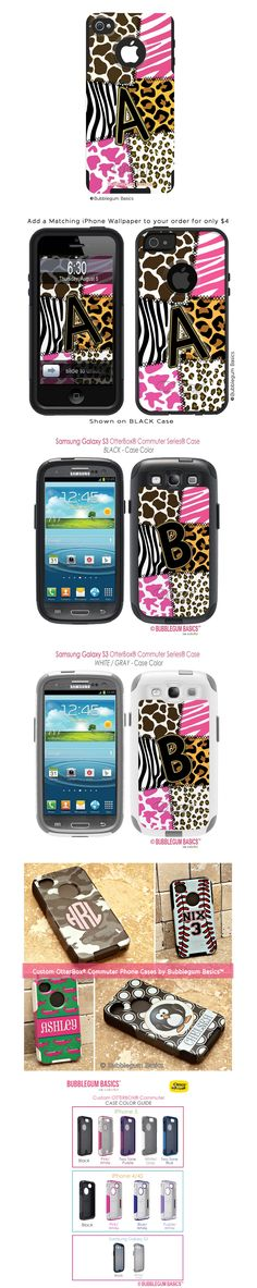 Animal Patchwork Custom OtterBox® #Commuter Series® #Phone #Case    === Price: $64.90 ===  a high level of protection for your phone, without the bulkiness of other high coverage cases.  The case offers a two-piece construction that includes a durable silicone mid layer and a one-piece custom-molded polycarbonate shell. AVAILABLE for the #iPhone 5, iPhone 4/4S and #Samsung Galaxy S3 and S4. For more info.... http://www.bubblegumbasics.com/animal-patchwork-custom-otterbox-commuter-phone-case/