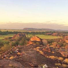 Busy night out at Ubirr in eastern Kakadu! Sunset right here is an absolute bucket list experience in #NTAustralia. Thanks to @mummysmiles for the pic. #askNTmates #seeaustralia