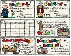 Missionary Countdown Calendar