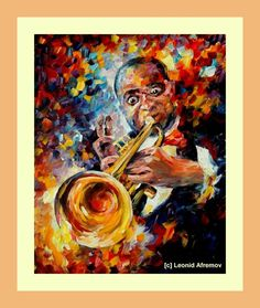 L.Armstrong by L. Afremov