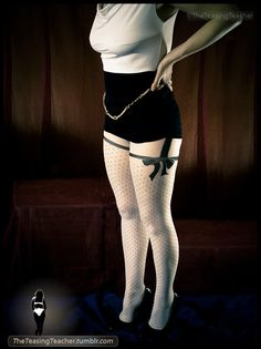 theteasingteacher:    Pantyhose Series. ©TheTeasingTeacher  Luxury hose.