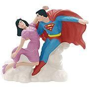 Superman and Lois Lane Salt and Pepper Shaker Set