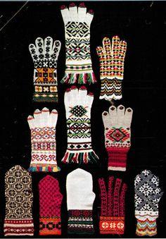 Estonian mittens!