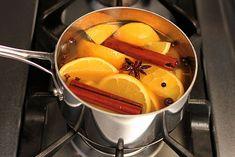 1. Orange, Cinnamon & Spice. 1 orange, 2 cinnamon sticks (or 2 teaspoons ground cinnamon), 1/2 tablespoon whole cloves (or 1/8 teaspoon ground cloves), 1/2 tablespoon whole allspice (or 1/4 teaspoon ground allspice), 1 anise star (optional)