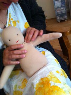 making a waldorf doll