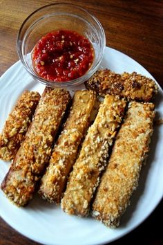 Crunchy Tofu Sticks