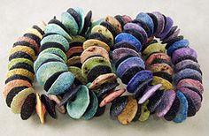organic bracelets by Kim Cavender..