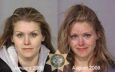 using meth, heroin or cocaine.