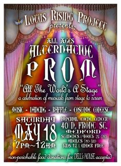 Hello! We are putting together a prom for all people who didn't get to go or was descrimated against if and when tye went to prom! We need some help! Please check out this website and see how you can help out! http:   http://www.indiegogo.com/projects/all-ages-alternative-prom/x/2796440  //www.lotusrisingproject.org/lrp/  Also you can find us on facebook at lotus rising project! Thank youuuuu