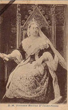 Queen Victoria of Britain.