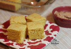 Sweet Cornbread {Gluten-free}