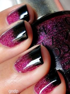 nail polish, nail colors, black nails, glitter nails, pink and purple gel nails, black gel nails designs, gel nail designs, nail gel, pretti gel