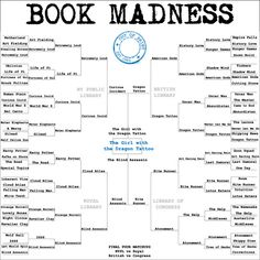 Book Madness would be fun to adapt for library