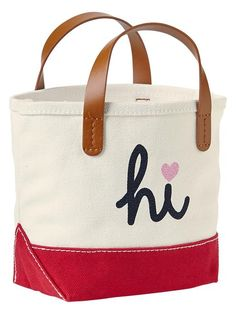 hi/bye tote | gap. (just bought this for my sweet little nieces!)